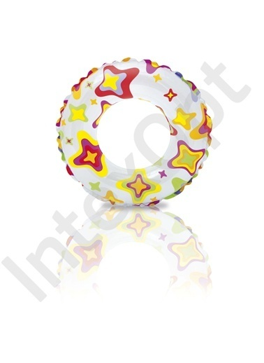 Intex İntex Baskılı Simit (61 Cm) Renkli